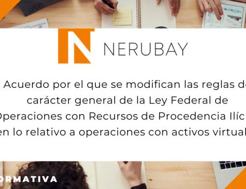 Nota informativa: Acuerdo por el que se modifican las reglas de carácter general de la Ley Federal de Operaciones con Recursos de Procedencia Ilícita (LFPIORPI), en lo relativo a operaciones con activos virtuales